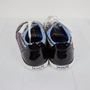 Coach Shoes - Coach Zorra Purple Sneakers